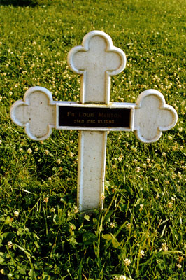 grave of Thomas Merton at the Abbey of Gethsemani, Kentucky